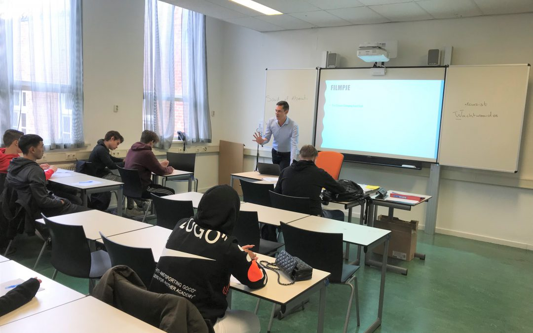 Pasmatch geeft workshop op Nova college